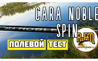 Бюджетный спиннинг Cara Noble Spin — он может оказаться топчиком